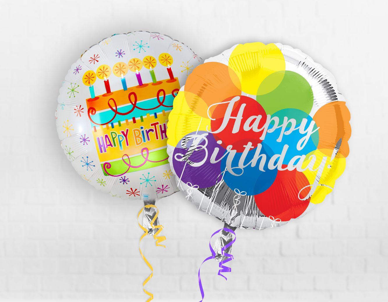 Ballons remplis d'air