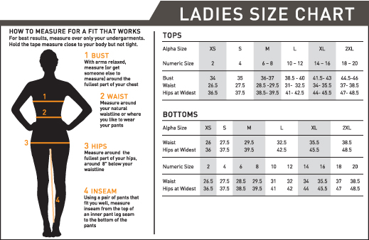 Canada Goose Women S Sizing Chart