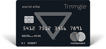 Canadian Tire Mastercard >> Triangle World Elite Mastercard Apply For Yours Today