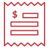 ISF receipt icon